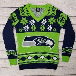 online store f0c24 21731 Women Seattle Seahawks Ugly Sweater on Poshmark